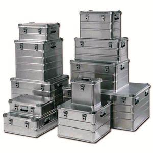cajón de aluminio / para almacenamiento / de transporte / de protección