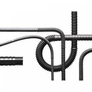 tubería rígida de protección / de plástico / flexible / a prueba de abrasión
