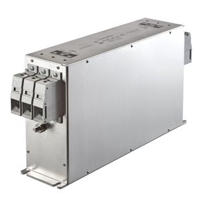filtro electrónico paso alto / pasivo / EMI / para enroscar