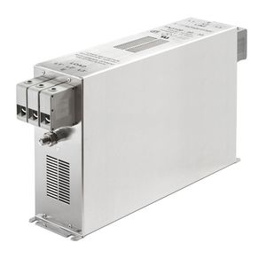 filtro electrónico paso banda / pasivo / EMI / para enroscar