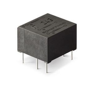 transformador de impulsos / encapsulado en resina / con doble secundario / de alta tensión