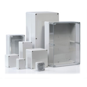 caja empotrable / rectangular / de ABS / de policarbonato