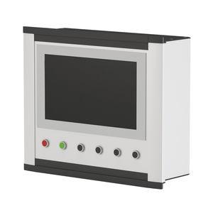 caja para montaje en paneles / modular / de aluminio / de control
