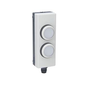 botón pulsador de mando / con luz