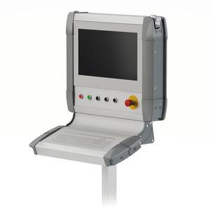 caja para montaje en paneles / modular / de aluminio / a medida