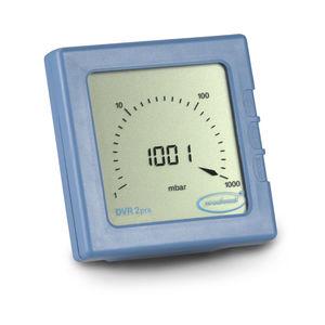 vacuómetro capacitivo con membrana / digital / portátil / resistente a los productos químicos
