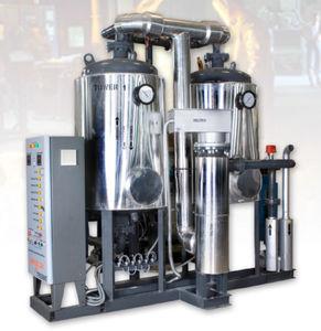 secador de aire comprimido por adsorción con aporte de calor