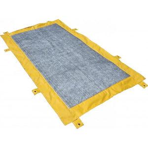 alfombra desinfectante / de tejido / modular