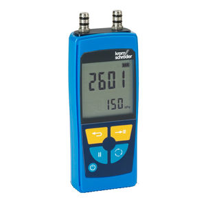 aparato de medición de presión / electrónico / para gas / de aire