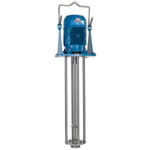 mezcladora de rotor y estator