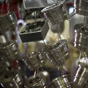 niquelado químico / de acero / de cobre / para aluminio