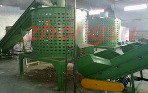 abridor de balas para el reciclado de plástico