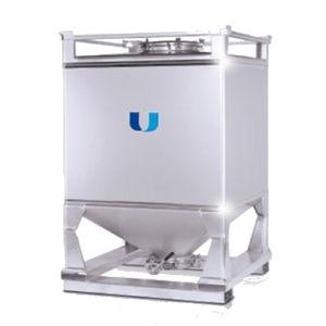 contenedor IBC de acero / de acero inoxidable / para alimentos / para productos farmacéuticos