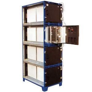filtro para humo de soldadura / de carbón activado / de gran eficacia / modular