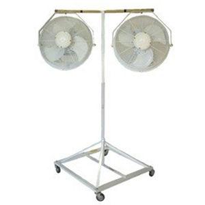 ventilador de pie / axial / móvil / nebulizador