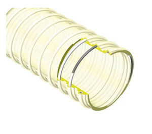 conducto de aire flexible / revestimiento de PVC / de poliéster / de poliuretano