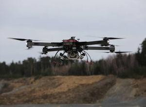 UAV cuadricóptero / de inspección / de vigilancia / de cartografía