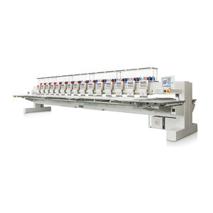 máquina bordadora plana