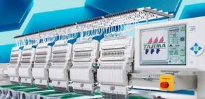 máquina bordadora multicabezal