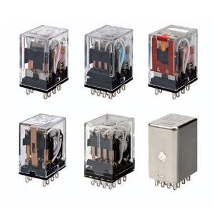 relé electromecánico DC / AC / enchufable / en miniatura