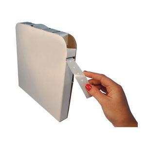 cinta adhesiva doble cara / de fibra acrílica / para la logística / para embalajes