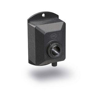 encoder rotativo incremental / óptico / de eje hueco / en caja de plástico