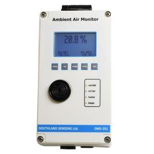 detector de oxígeno / de calidad del aire interior / electroquímico / mural