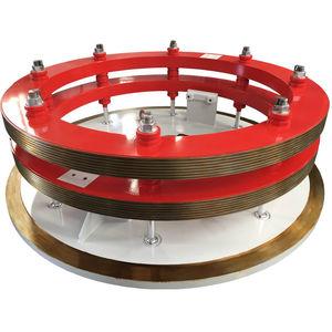 anillo colector para generador / de acero inoxidable / de bronce / de acero al carbono