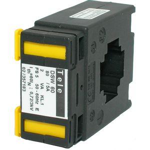transductor de corriente con transformador