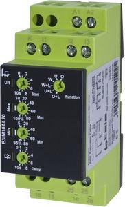 relé de vigilancia de corriente / 2NA/NC / ajustable / temporizador