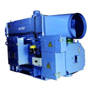 alternador para aerogenerador / trifásico / 6 polos / con refrigeración por líquido