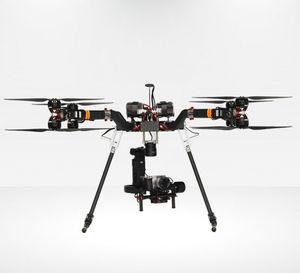 UAV octóptero / de vigilancia / de cartografía / de observación