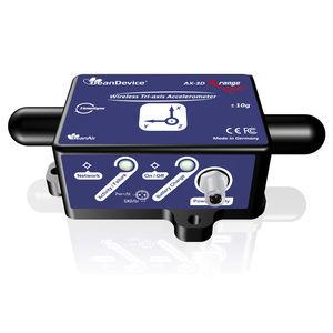 acelerómetro triaxial / MEMS / reforzado / con electrónica integrada