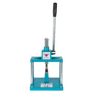 prensa manual / de punzonar / para aluminio