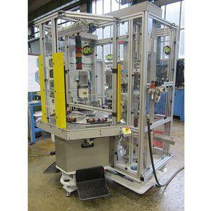 máquina de remachado semiautomática / radial / compacta