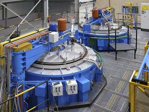 horno de calibración / de foso / de combustión / con circulación de aire