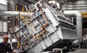 horno de mantenimiento / de fusión / de cámara / de combustión