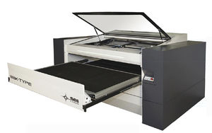 máquina de corte para metal / láser CO2 / CNC / de grabado