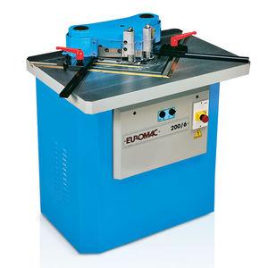escantonadora de ángulo fijo de 90º / automática / hidráulica / de corte