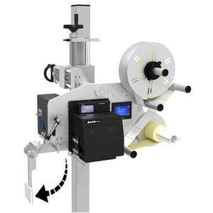 máquina de impresión-colocación de etiquetas de transferencia térmica