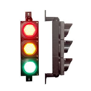 semáforo LED / tricolor / policarbonato
