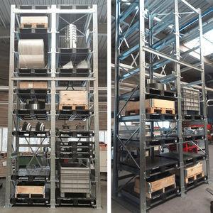 sistema de estanterías con paleta / cantilever / para cajas / para barriles