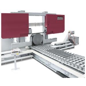 sierra de cinta / para acero / para barras / semiautomática