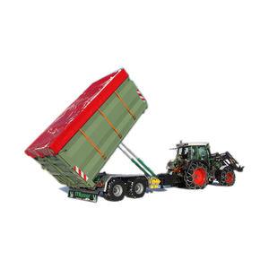 remolque de 2 ejes / para recipientes vacíos / para contenedores / agrícola