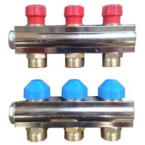 manifold de distribución / multivía / de alta presión / para agua potable