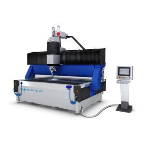 máquina de corte con chorro de agua