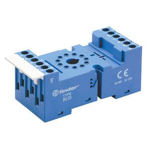 ficha para relé electromecánica / para circuito impreso