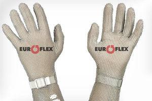 guantes de trabajo / de protección mecánica / de metal / manguitos