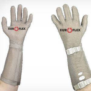 guantes de trabajo / de protección mecánica / de acero inoxidable / manguitos