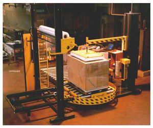 envolvedora con plataforma giratoria / enteramente automática / para palés / con transportador